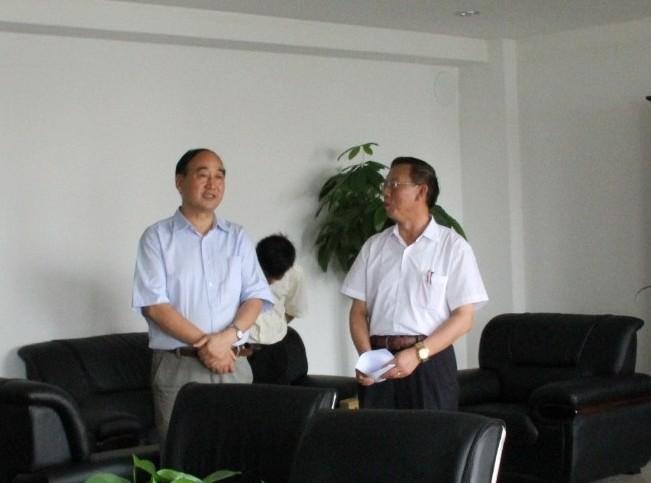 河南省政协副主席邓永俭一行来我公司调研