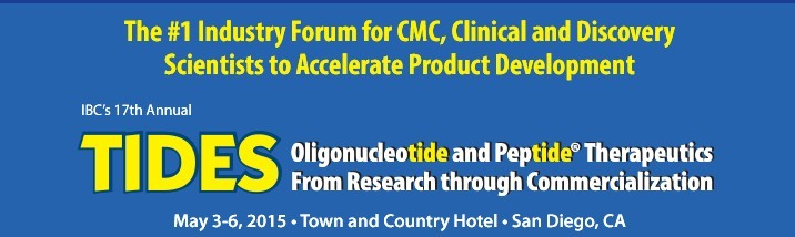 公司执行董事安浩云千人专家将出席核酸与蛋白药物研发制备领域的国际权威会议TIDES