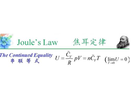 """郑州格然林发表了热力学领域突破性成果 -""""串联等式"""""""