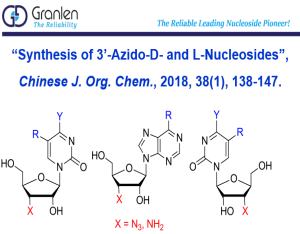 Zhengzhou Granlen Published Azido-Nucleosides at CJOC